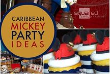 Mickey pirate party