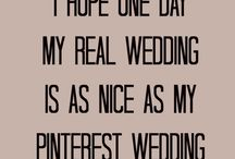 A Little Wedding Humor / It's always good to know it's NOT just you.