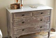 patina, renovace nábytku