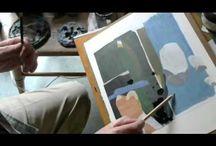 Videos of Harry Stooshinoff Painting