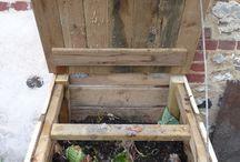 Compost / Faire son propre compost, préparer un système de compostage...