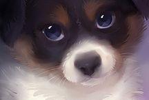 Kawaii Puppies