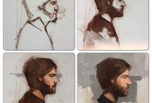 Fundamentals - Alla Prima (Sketches,Grisaille) / Alla Prima tut's & sketches, grisaille underpaintings