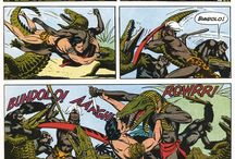 Russ Manning / Creator of Magnus Robot Fighter, and one of the key Tarzan illustrators...