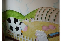 Kids/ Rooms/Mural / If you can dream , you can create , the sky is the limit !! You can contact me if you are interested.