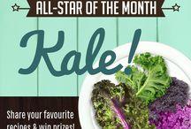 September all-star: Kale