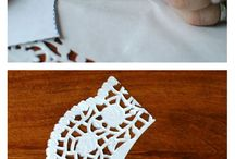 creative with doily paper