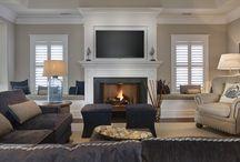 Fireplace ideas (Living room)