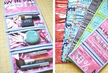 Sewing Tutorials - Bags, wallets, totes, pouches, etc. / by Elizabeth Murphy