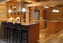 Vertical Grain Douglas Fir Cabinets