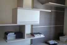 HOME OFFICE / Móveis destinados para home office (escritório em casa)