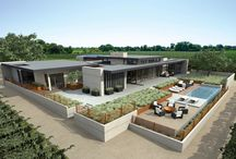 River Vine Vineyards / River Vine is a one-of-a kind Gen7 Concept home, built by American Modular Systems and the River Vine Project Partners. It is designed to achieve LEED® Platinum certification and will be one of most advanced, high-end prefabricated residence ever constructed.