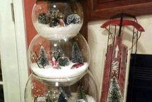 Kerstspullen voor in huis