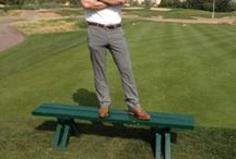 In our golf shoes / Stylish golfers and their choice of golf shoes from Royal Albartross