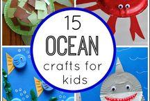 ocean themes activity