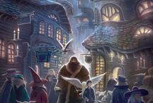 Harry Potter illustrations