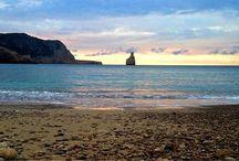 Cala Benirras Ibiza / Amazing views, beach and sunset Benirras photos-Ibiza