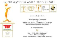 Miss Golden Land Myanmar / Miss Golden Land Myanmar information, year information, pictures, videos, previous winners, crown, preliminary competition, history, contestants, winners