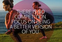 Compete With Yourself / Ideas for getting into better shape and living a healthier life for me and for my family.  / by Susan Binkley