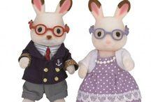 Sylvanian Families Dziadkowie Królików z Czekoladowymi Uszkami / Wyjątkowe zabawki dla dzieci marki Sylvanian Families