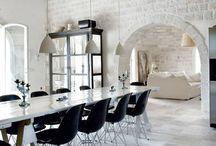 Common spaces - Interior Design / Interior design inspiration we love. Ethereal. Luminous. Minimal.