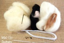 DIY needle felting kits