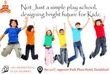 Kidz Kingdom / Not Just a simple play school, designing bright future for Kidz.