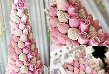 Starberry Tower Cake