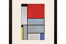 Mondrian / From nature to abstraction / by Joanna Richards