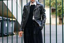 Street Fashion / Tokyo, Seoul, Paris, Milan