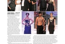 "Solitaire International Magazine covers ""The Royal Tribe"" from Apala By Sumit, IIJW Show."