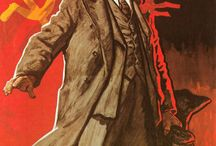 Soviet propaganda with Lenin