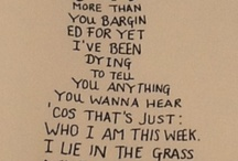 Fall Out Boy Lyrics / Fall Out Boy are the therapist pumping through my speakers.