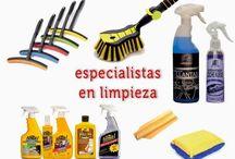 Catálogo de productos de limpieza para tu coche / #limpieza para tu #coche