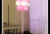 Baby Girl Baby Shower balloons / 風船アート