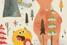 Illustration | Monsters