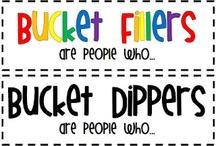 Kindergarten Bucket Fillers / Bucket Filling ideas and activities to use in the classroom!