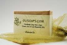 Handmade soaps / Natural handmade soaps with extra virgin olive oil and essential oils!!!