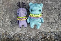 amigurumi, crochet and knitting