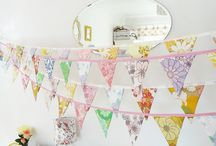 Bunting, Banners, Garlands
