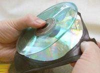 How to remove film from cd