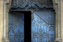 *doors across the world*