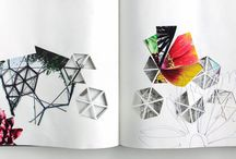 Collage | Paper Art / Patterns, layers, colours, textures, cutouts, into-cutting