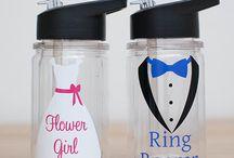 flower girl and ring boy