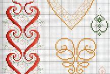 Cross stitch chart / Схемы и картинки которые мне понравились :)