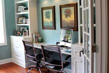 Home office decor / Ideas for setting up a gorgeous office