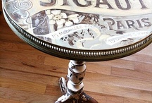 Table Top Furniture Ideas (refinishing) / Ideas and inspiration for refinishing old tables.