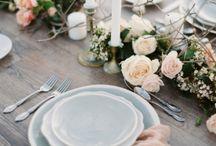 Сервировка стола для Жанны