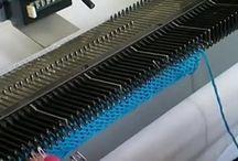 вязание на машинке