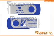 Wedding Favours Personalised USB Memory Sticks  / USBEXtra develop distinctive and unique personalised wedding favours for weddings. from the credit card sized option to the leather USB memory stick, the options for your quality wedding favours are limitless